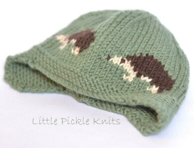 91ef2393f1a Little Hedgehog Aviator Knitting pattern by Little Pickle Knits