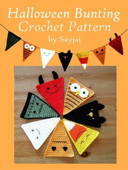 Halloween Bunting Crochet Pattern