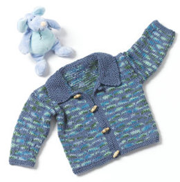 Toddler Sweater in Caron Simply Soft and Simply Soft Paints - Downloadable PDF