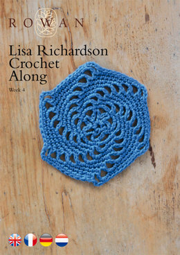 Lisa Richardson Crochet Along Week 4 in Rowan Summerlite 4 Ply
