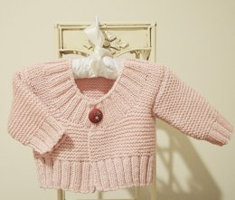 Baby Quick Knit Cardigan - P101