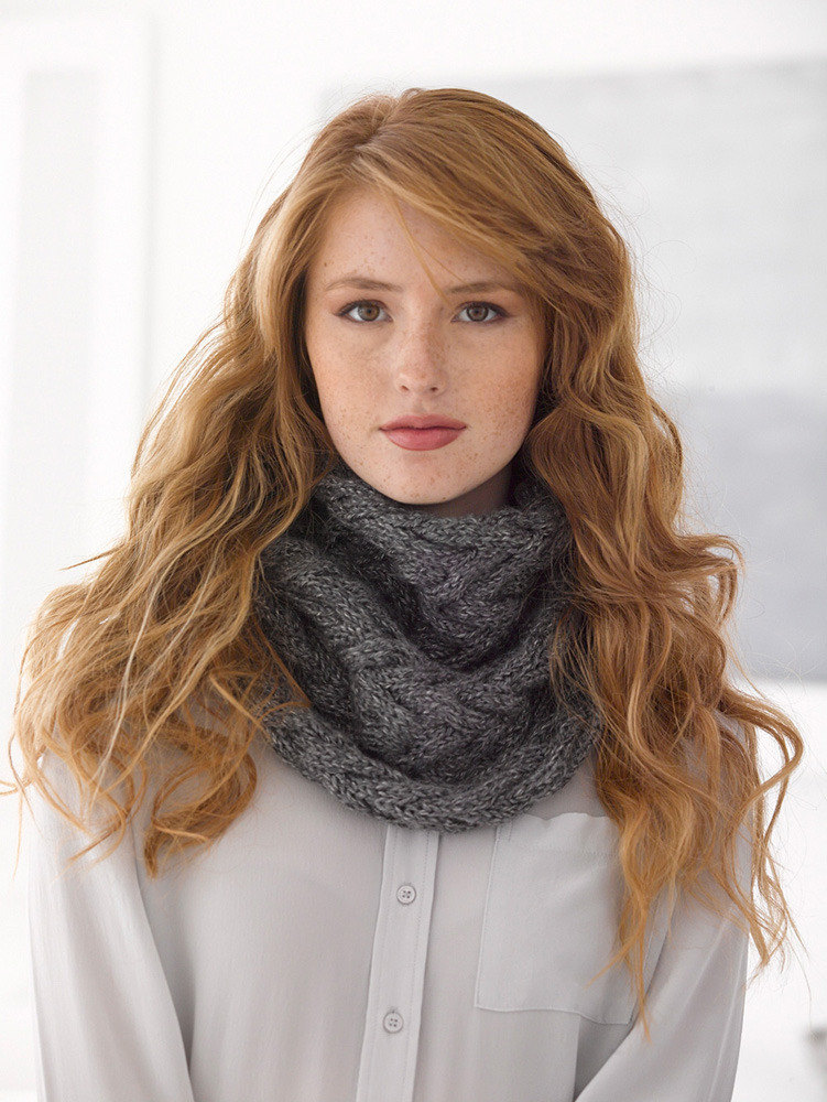 Captivating Cowl in Lion Brand Heartland - L30096 ... - photo#23