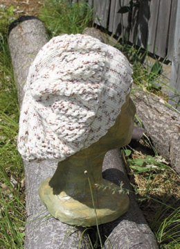 Soho Hat in Knit One Crochet Too Ty-Dy Socks - 1728