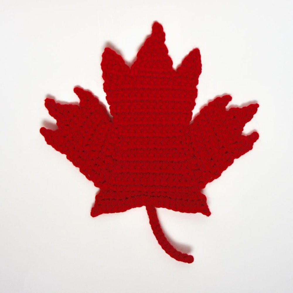 Canada Maple Leaf Crochet Pattern By Ms Premise Conclusion