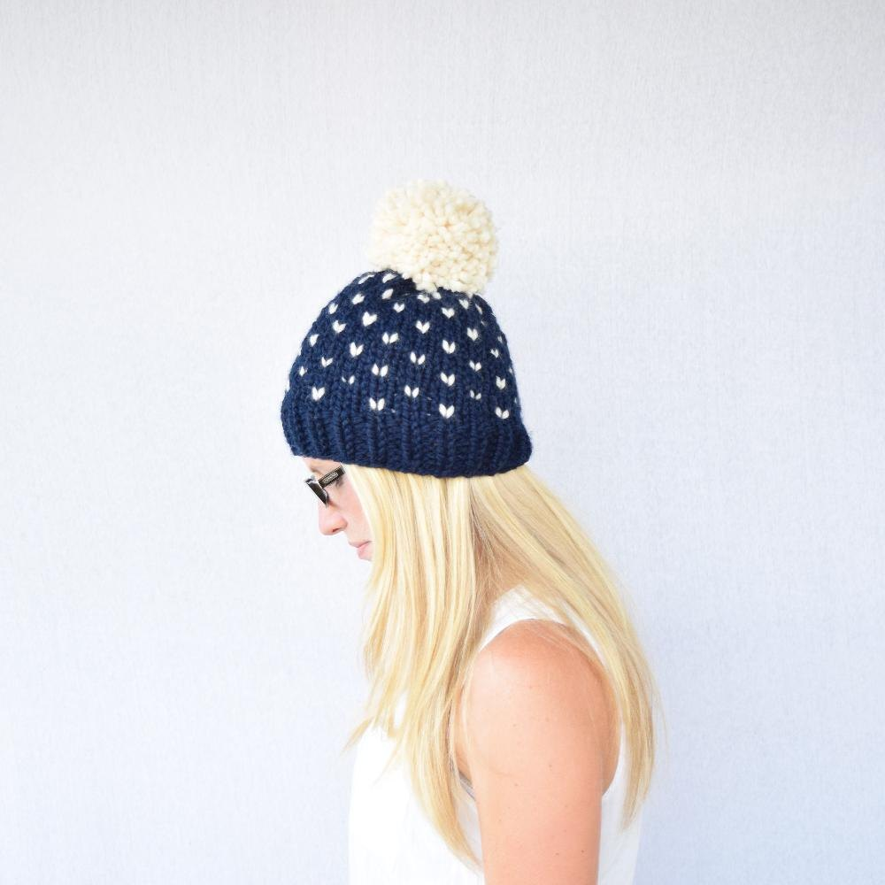 The Colorado Fair Isle Knitted Hat Knitting pattern by Kathleen Jones