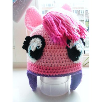 Pinkie Pie My Little Pony Hat Pattern  -  Perfect Gift