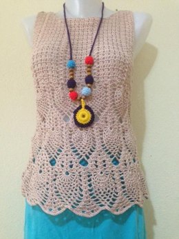 Adult summer crochet top