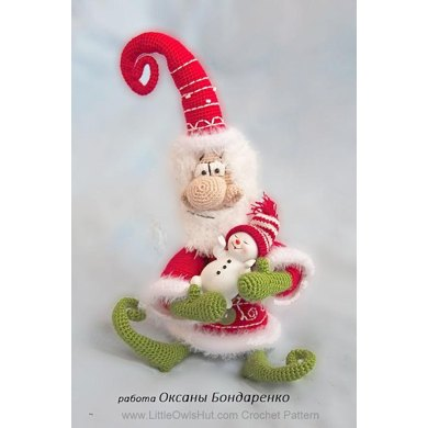036 Santa Claus, Father Frost, Father Christmas toy Ravelry