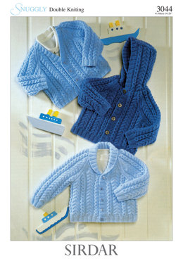 Babies and Children Jackets in Sirdar Snuggly DK - 3044 - Downloadable PDF