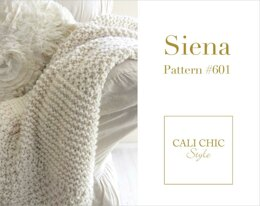 Siena Knit Throw Blanket #601