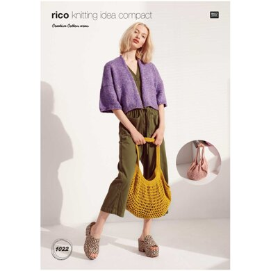 Bag in Rico Creative Cotton Aran - KIC1022 - Downloadable PDF