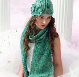 Crochet Hat & Scarf in Araucania Botany Lace