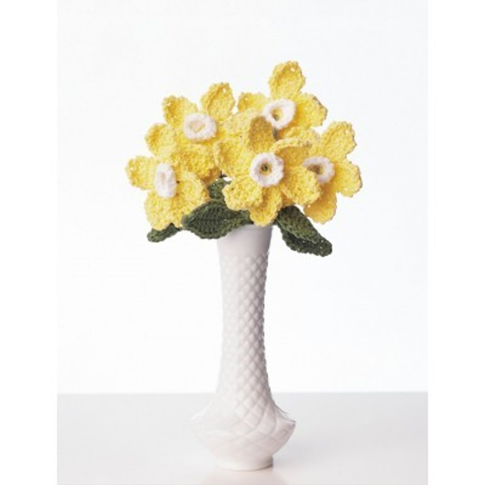 Daffodil Bouquet in Lily Sugar and Cream Solids Knitting ...