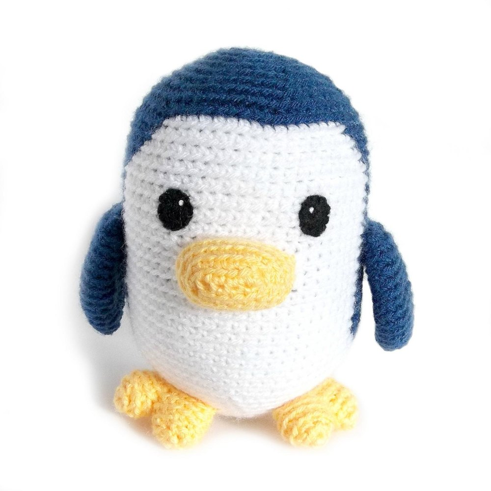 Pippin The Penguin Crochet Pattern By Monster S Toy Box Knitting