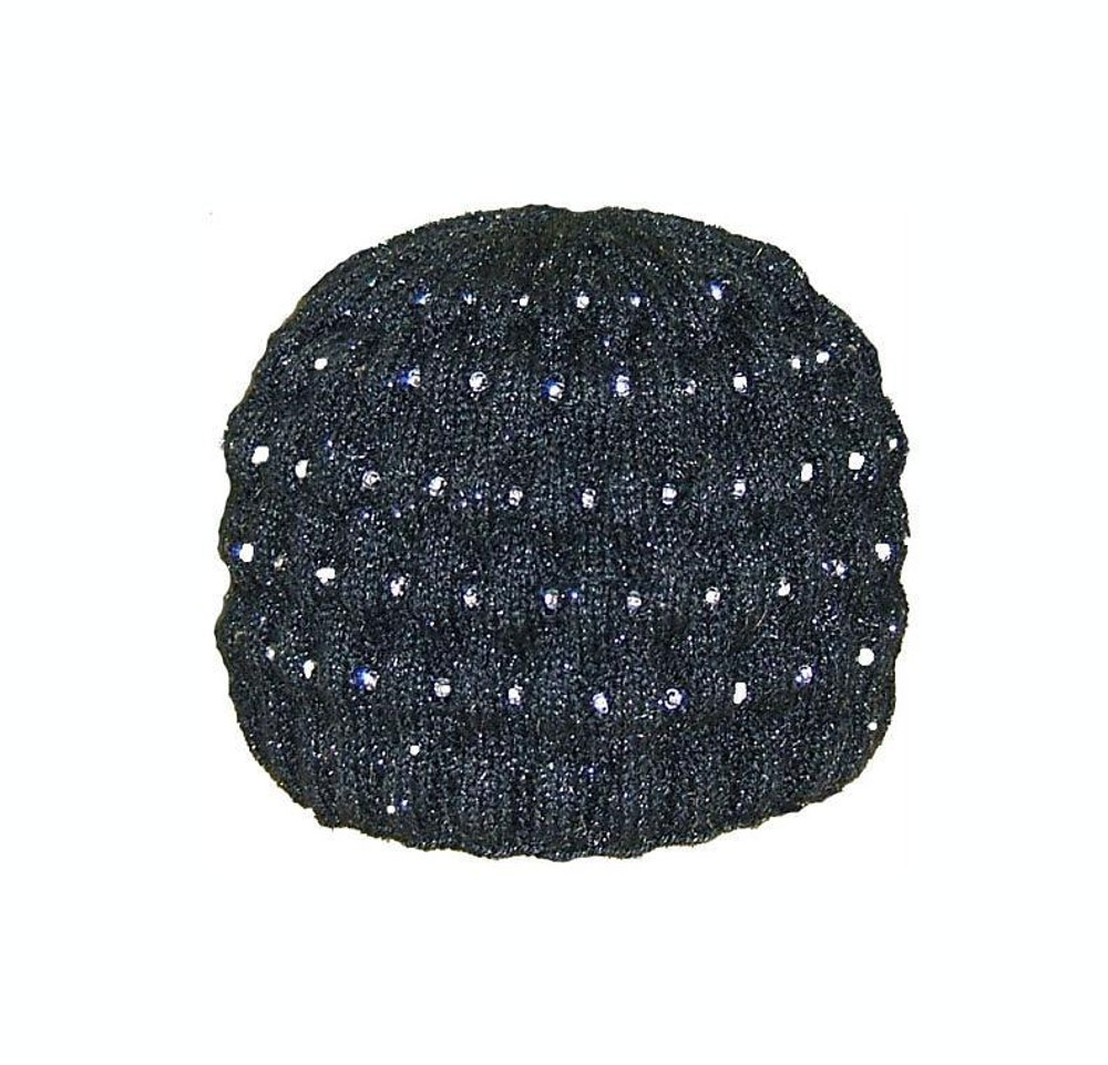 Easy Scarf Patterns To Knit : Starry Night Beaded Hat Knitting pattern by Sharon Mooney Knitting Patterns...