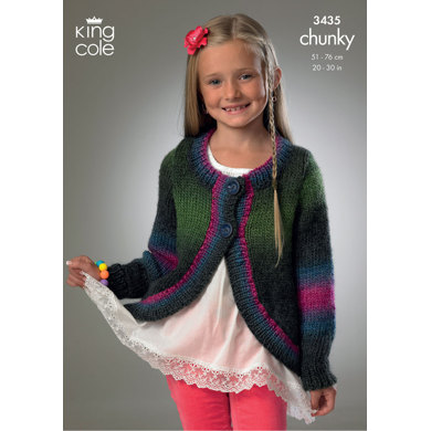 Jackets in King Cole Riot Chunky - 3435