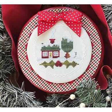 Luhu Stitches Lil' House in the Snow - Downloadable PDF