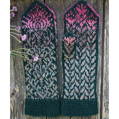 Thistle Mittens