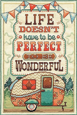 Design Works Wonderful Life Cross Stitch Kit