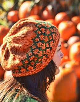 Tangled Pumpkin Vines Hat