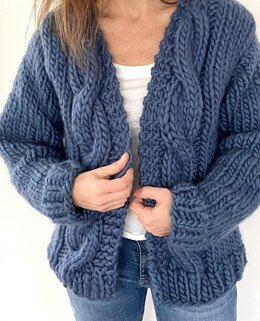 Bulky Cable Cardigan