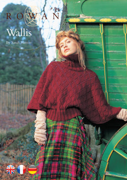 Wallis Sweater in Rowan Kid Classic