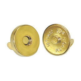 Gold Magnetic 14mm Snaps