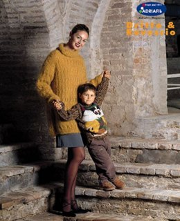 Boy Pullover with Embriodery in Adriafil Globe Uni - Downloadable PDF