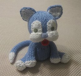 Knitkinz Cat for Your Office
