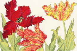 Bothy Threads Tulip Blooms Cross Stitch Kit