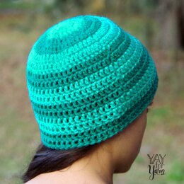 Seamless Double Crochet Hat