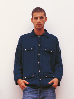 Colorado Jacket in Rowan Original Denim
