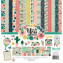 "Echo Park Paper Echo Park Collection Kit 12""X12"" - Just Be You"