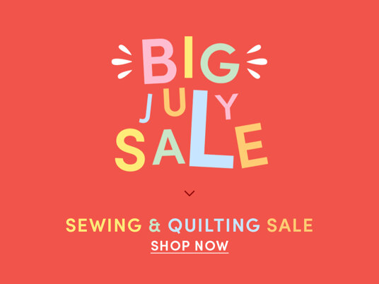 Big July Sale! Up to 60 percent off
