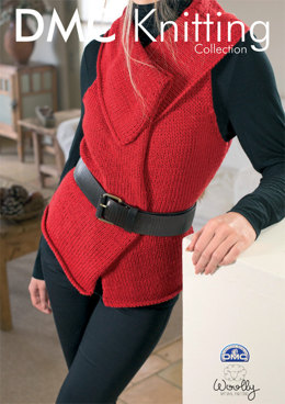 Sleeveless Gilet in DMC Woolly - 15137L/2
