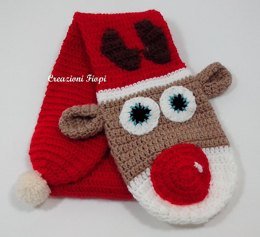 Scarf Toddler Reindeer