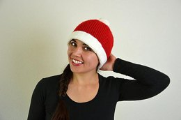 Christmas Beanie Hat Crochet Pattern
