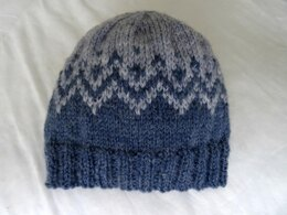 Mountain beanie hat