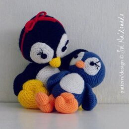 Amigurumi Penguin Doll