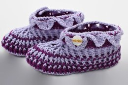 Ladies' Croc-Trimmed Slippers