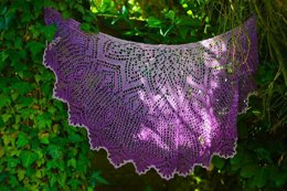 April Love Beaded Lace Shawl