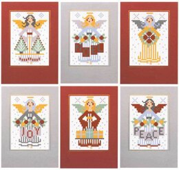 Riverdrift House Angels Traditional Cards, Set of 6 Cross Stitch Kit