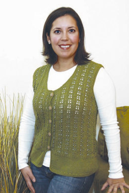 Fawn's Eye Vest in Knit One Crochet Too Babyboo - 1604