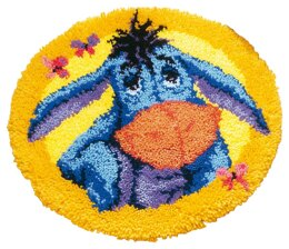 Vervaco Disney - Eeyore Latch Hook Rug Kit - 50cm