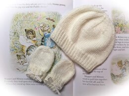 Royal Baby Hat and Mitts-Archie