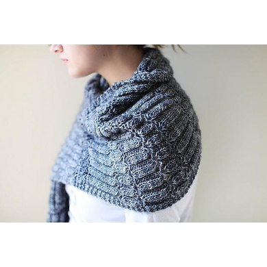 Stacked Columns Wrap and Shawl