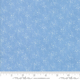 Moda Fabrics Mackinac Island - Light Blue Berries