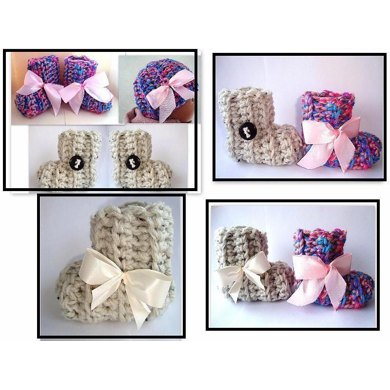 679 HAT AND BOOTIES SET