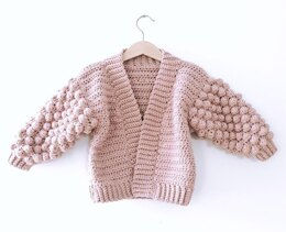 Mini Poet Cardigan