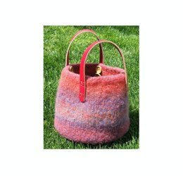 Felted Knitting Bowl on the Go!